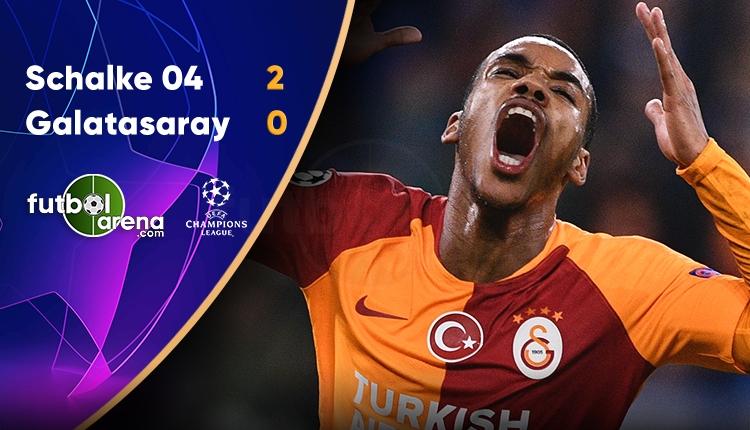 Galatasaray, Schalke 04'e teslim oldu