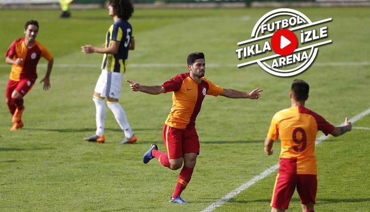 Galatasaray U21 2-0 Fenerbahçe U21 maçı özeti ve golleri (İZLE)