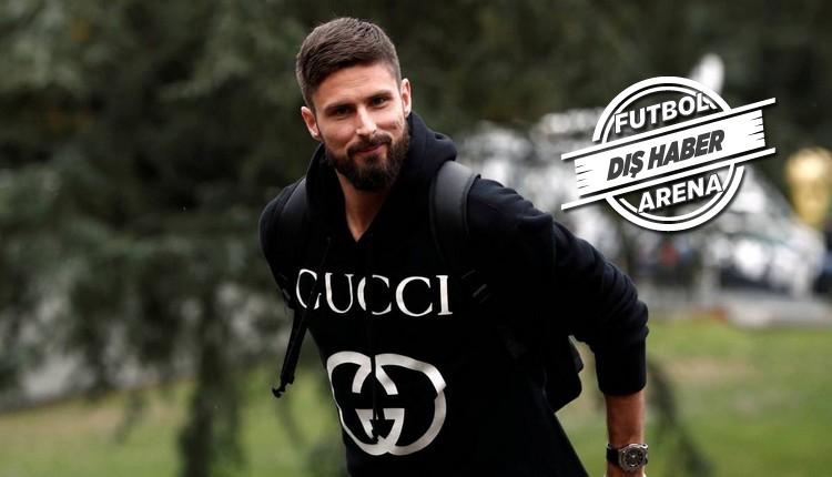Galatasaray'a yazılan Giroud'dan transfer itirafı
