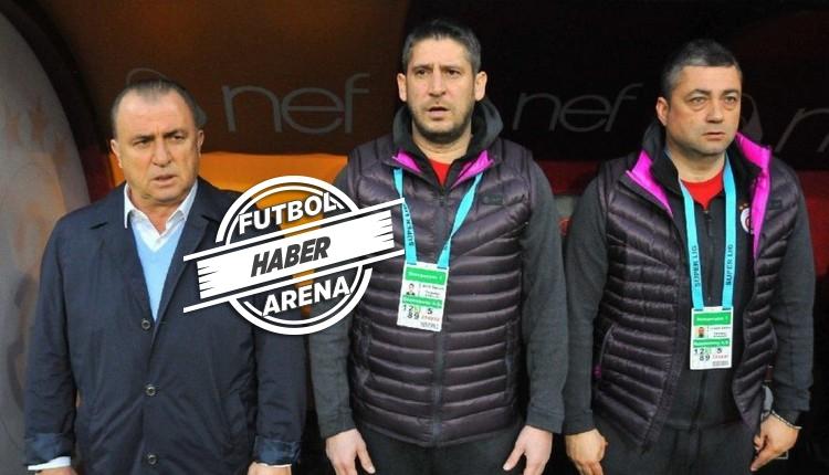 Galatasaray'da Fatih Terim'in yerine Levent Şahin