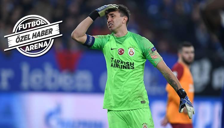 Galatasaray'da Fernando Muslera'ya uyarı!