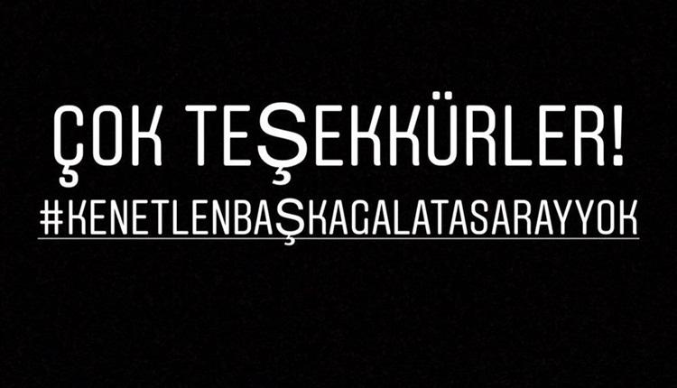 Galatasaray'da ortak tepki: