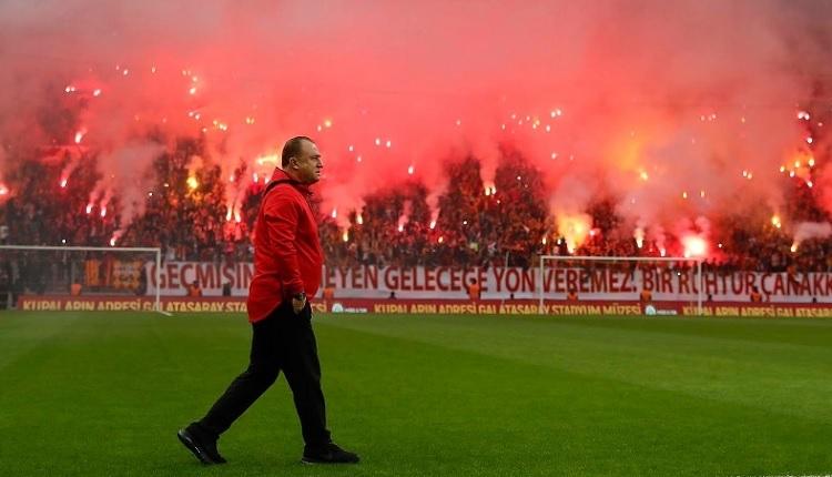 Galatasaray'dan Türk Telekom Stadı'nda taraftara açık idman