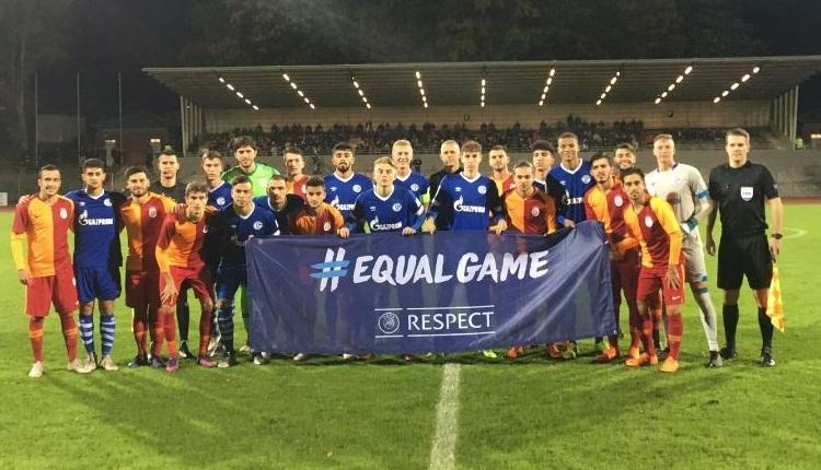 Galatasaray'ın gençleri Schalke'yi devirdi