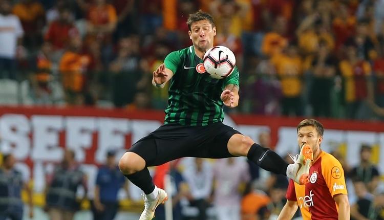 Galatasaray'ın transfer gözdesi Seleznyov, altyapı takımı ile çalışıyor