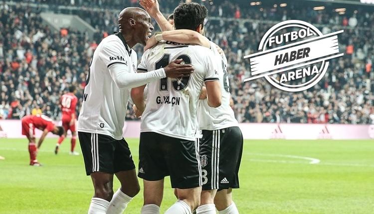 Güven Yalçın'ın Beşiktaş formasıyla ilk golü Sivasspor'a