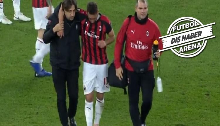 Hakan Çalhanoğlu Betis - Milan maçında sakatlandı