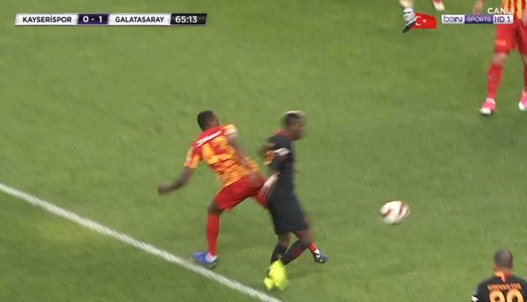 Henry Onyekuru'nun pozisyonunda penaltı var mı?