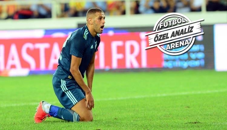Islam Slimani şutları şaşırttı! Süper Lig'in en kötüsü