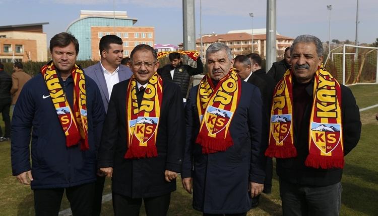 Kayserispor'da Mehmet Özhaseki'den şehre mesaj! 'Eksik olan şehrin desteği'