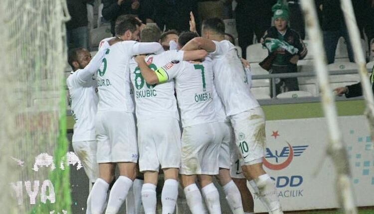 Konyaspor 2-0 Alanyaspor maç özeti ve golleri izle