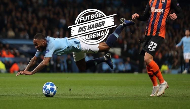Manchester City - Shakhtar Donetsk maçında yok artık diyeceğiniz penaltı kararı
