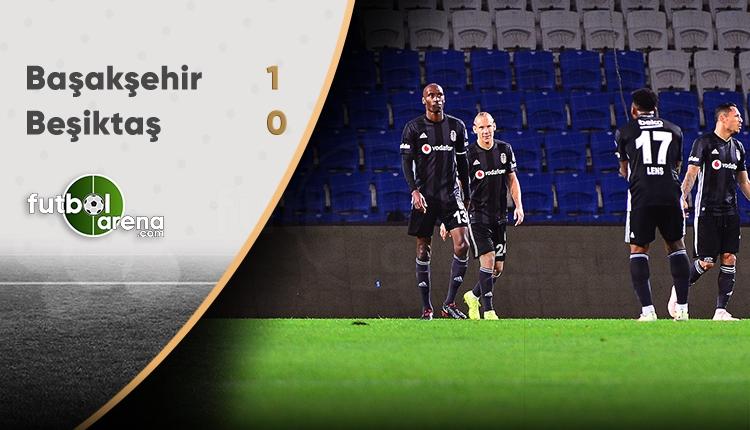 Medipol Başakşehir 1-0 Beşiktaş (Maç Sonucu)