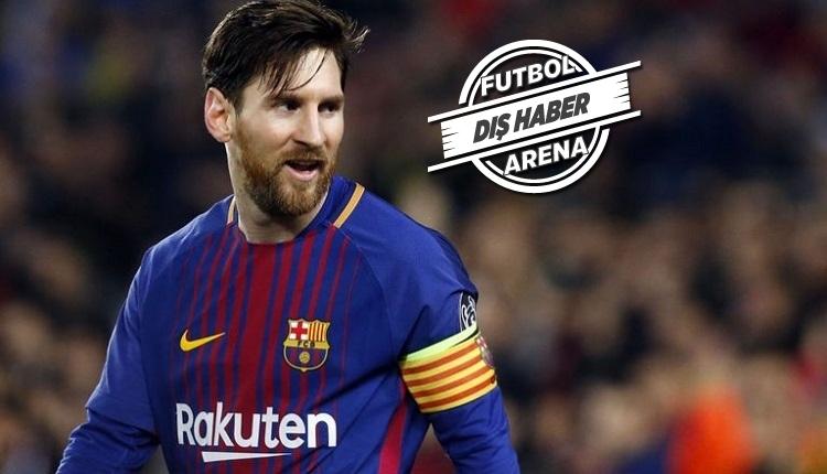 Messi'den Valverde'ye: