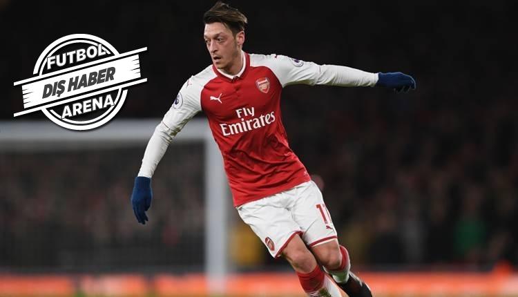 Mesut Özil'in reddettiği çılgın teklif: 'Haftalık 1 milyon pound'