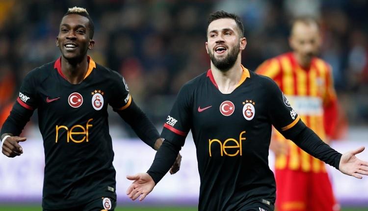Ömer Bayram Galatasaray formasıyla ilk golünü attı