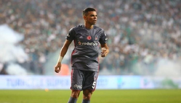 Pepe'den Başakşehir maçı sonrası itiraf