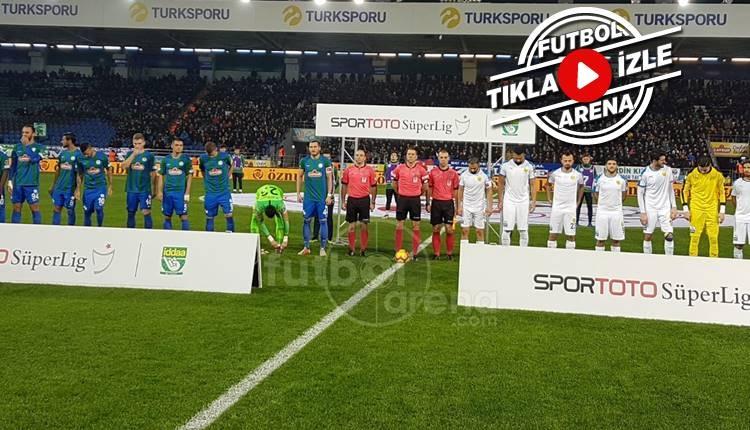 Rizespor 1-1 Ankaragücü maçı özeti ve golleri (İZLE)