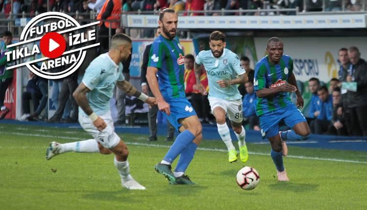 Rizespor 1-2 Başakşehir maçı özeti ve golleri (İZLE)