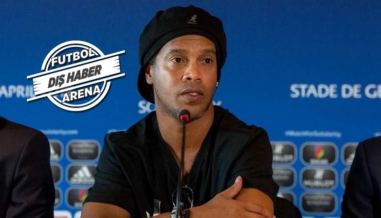 Ronaldinho'ya büyük şok! Sadece 6 eurosu kaldı
