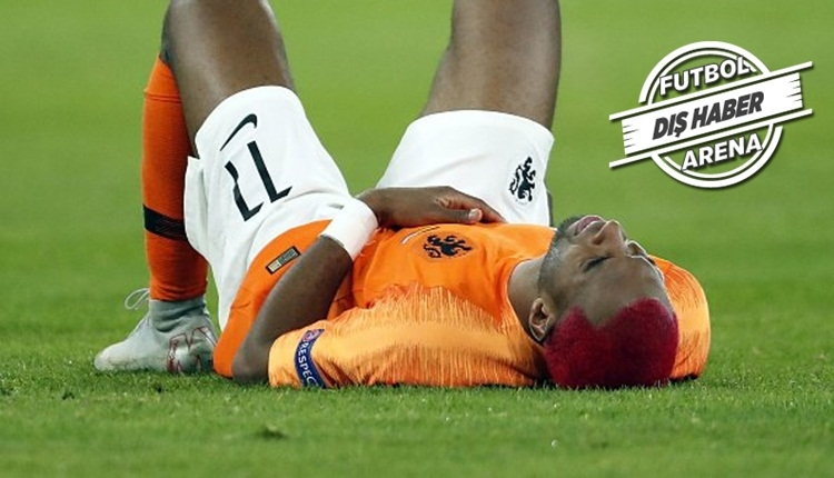 Ryan Babel Almanya maçında sakatlandı! Son durumu