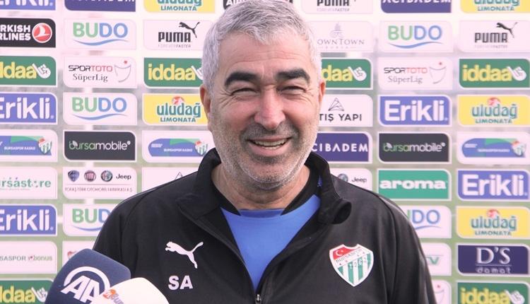 Samet Aybaba Bursaspor'dan ayrılacak mı? Resmen açıkladı