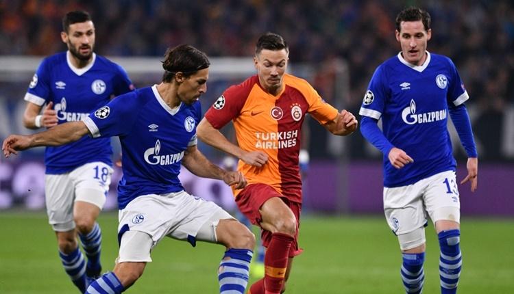 Schalke 04 2 - 0 Galatasaray maçın özeti ve goller