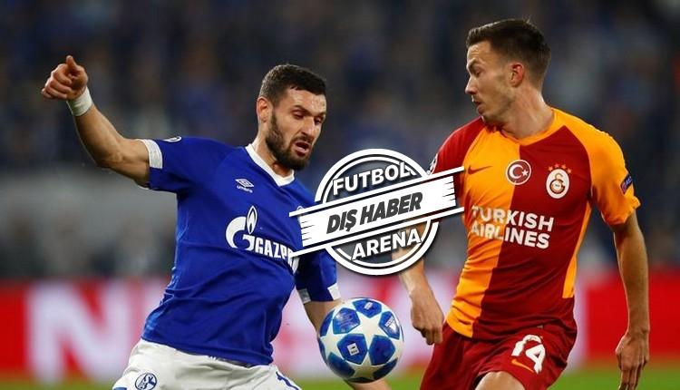 Schalke, Galatasaray'ı şimşek gibi çarptı