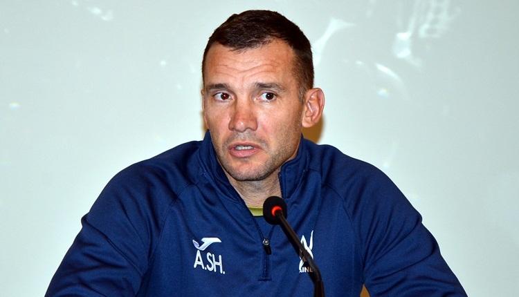 Shevchenko'dan Lucescu'ya mesaj! 'Mücadele maçı olmayacak'