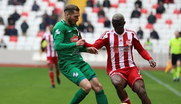 Sivasspor 1-1 Rizespor maç özeti ve golleri izle