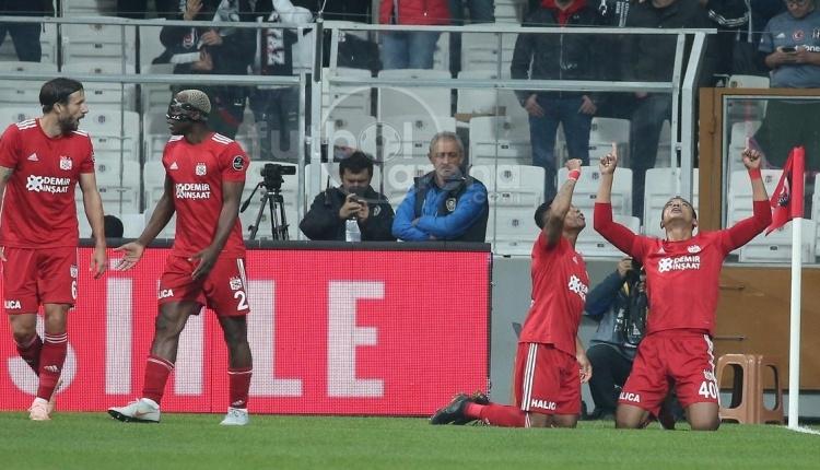 Sivasspor, Beşiktaş karşısında bir ilki yaşadı