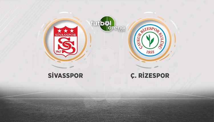 Sivasspor - Çaykur Rizespor canlı şifresiz izle (Sivasspor - Rizespor beIN Sports canlı)
