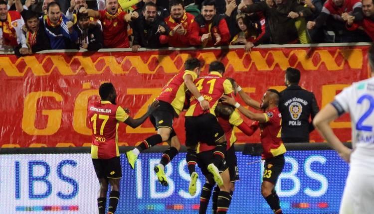 Süper Lig'de iç saha kralı Göztepe