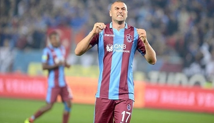 Trabzonspor, Burak Yılmaz'ın sözleşmesini feshetti mi?
