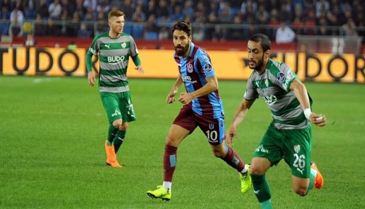 Trabzonspor - Bursaspor maçında kazanan yok