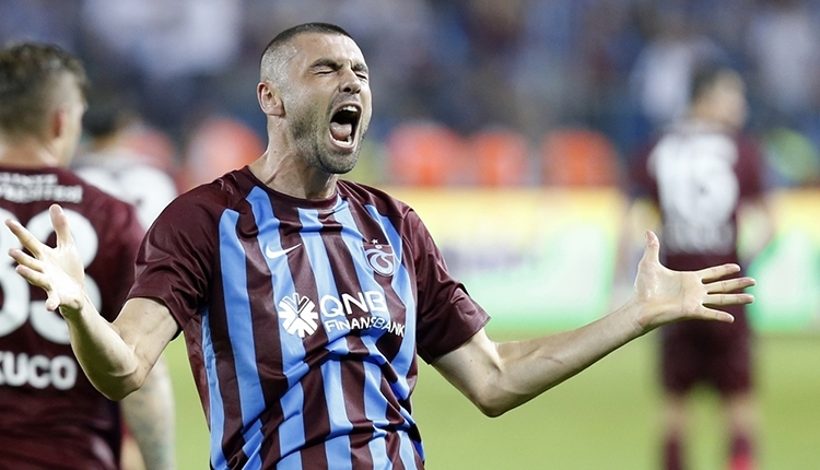Trabzonspor'da Burak Yılmaz kadro dışı!