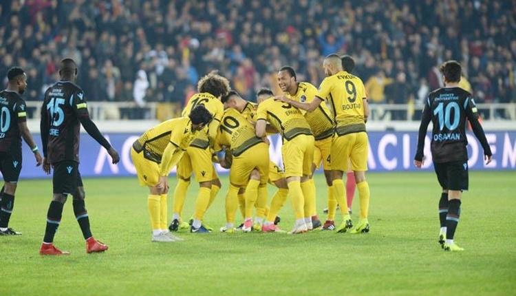 Trabzonspor'un en ağır 7. yenilgisi Yeni Malatyaspor'dan