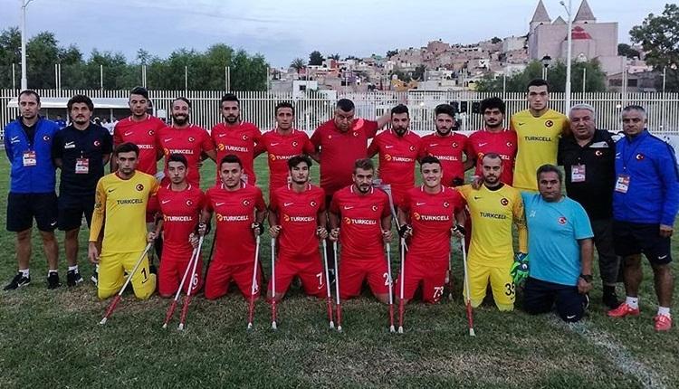 Türkiye Ampute Milli Takımı, Dünya Kupası'nda finale yükseldi