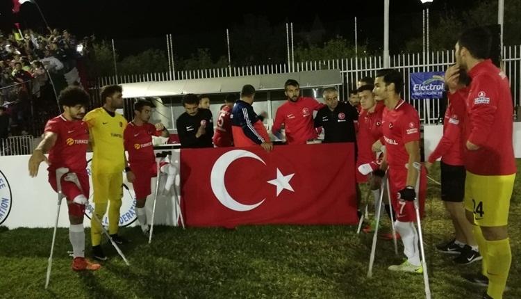 Türkiye Angola Ampute maçı ne zaman? Türkiye ampute takımı final maçı hangi kanalda, saat kaçta? (Ampute milli takımı final maçı)