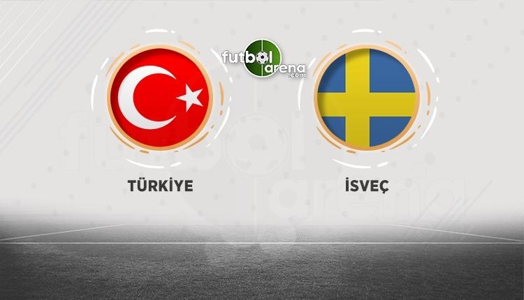 Türkiye - İsveç hangi kanalda? Türkiye İsveç maçı canlı İZLE