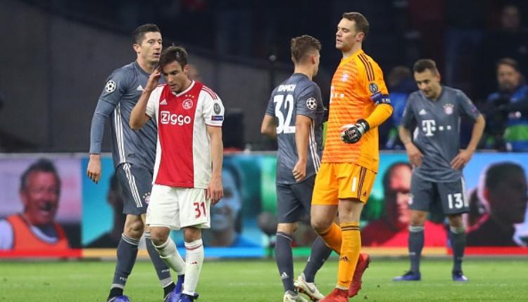 Ajax 3-3 Bayern Münih maç özetleri ve golleri (İZLE)