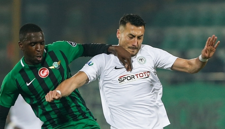 Akhisarspor 0-0 Konyaspor maç özeti izle
