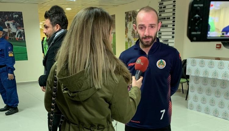 Efecan FutbolArena'ya konuştu: 'Beşiktaş'a pozisyon vermedik'