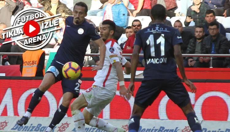 Antalyaspor 1-0 Göztepe maçı özeti ve golü (İZLE)