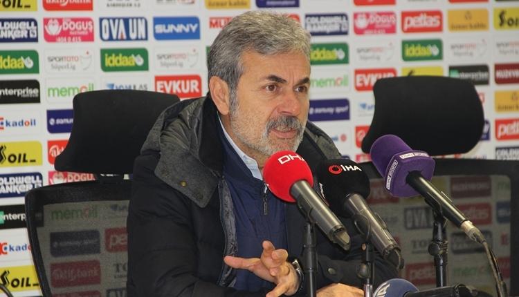 Aykut Kocaman: 'Çok net bir penaltıyı atladı'