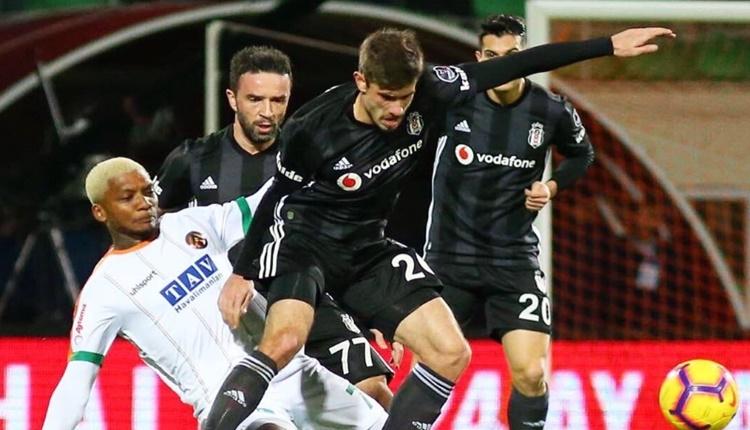 Aytemiz Alanyaspor 0-0 Beşiktaş maçın özeti