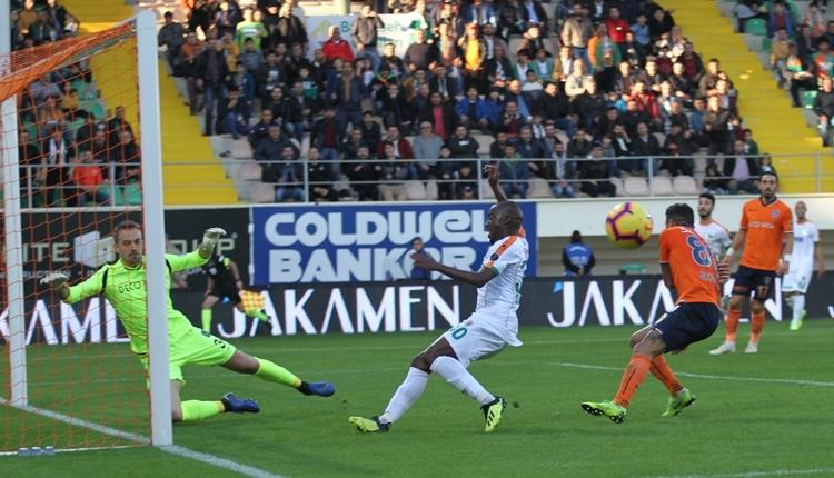 Aytemiz Alanyaspor 1-1 Medipol Başakşehir maç özeti ve golleri izle