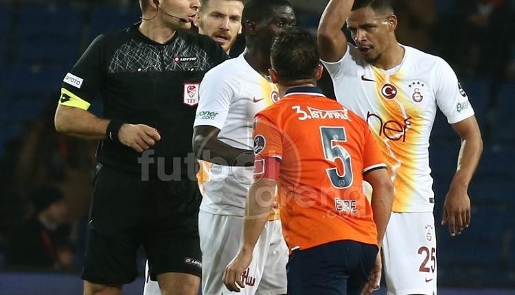 Başakşehir - Galatasaray maçında Emre Belözoğlu, Fernando gerginliği