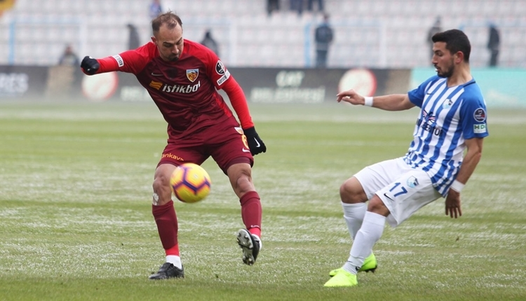 BB Erzurumspor 1-1 Kayserispor maç özeti ve golleri izle