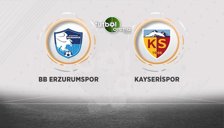 BB Erzurumspor Kayserispor maçı canlı şifresiz izie (BeIN Sports canlı şifresiz izle)